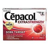 Cepacol Maximum Strength Throat Drop Lozenges, Cherry Flavor, 16 Count