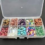 LiuliuBull Spécimens minéraux Cadeau Exquis Holiday Mineur Décoration Crystal Décor Porneau Poisson Tank Tancher Pierre Amélioration de la Maison (Color : Multi Colored)