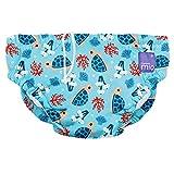 Bambino Mio, pañal bañador, bahía de tortuga, grande (1-2 años)