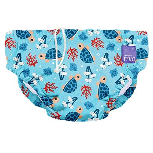 Bambino Mio, wiederverwendbare schwimmwindel, schildkrötenbucht, M (6-12 Monate)
