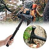 VIKING GEAR® Tomahawk mit Hammer - M48 Combat VALHALL Edition - Axt - Beil - Hatchet - Messer,...