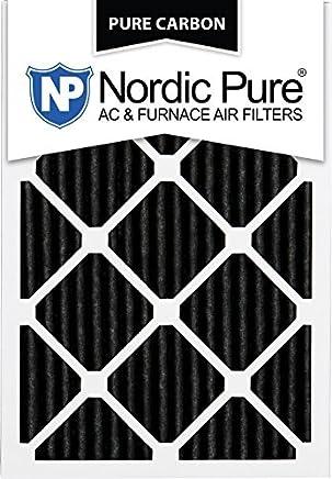 Nordic Pure 20x24x1PCP-2 Pure Carbon AC Furnace Filter 20x24x1 Pure Carbon Pleated AC Furnace Filters Qty 2 [並行輸入品]