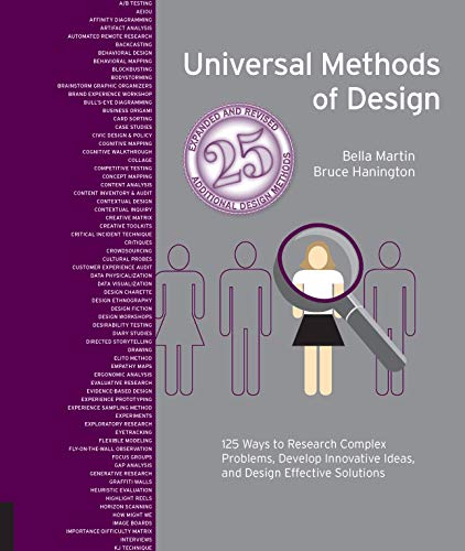 Hanington, B: Universal Methods of Design Expanded and Revis: 125 Ways to Research Complex Problems, Develop Innovative Ideas, and Design Effective Solutions