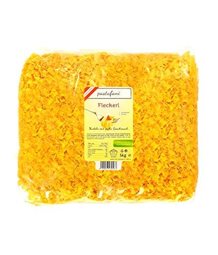 pastafani Fleckerl 5kg - FAMILY- UND GASTRO-PACK - Regionale Nudeln aus natürlichen, qualitativ hochwertigen Zutaten ohne Aroma- oder Zusatzstoffe - Perfekte Pasta für Großverbraucher!