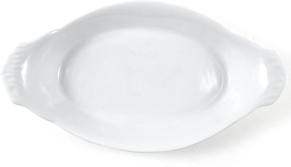 Omniware White Choice Porcelain Au Gratin Inch Dish 10 Purchase
