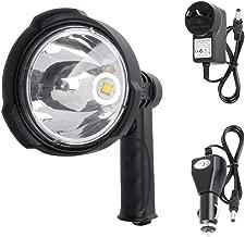 LIGHTFOX 25W CREE Handheld Spot Light Rechargeable LED Spotlight Hunting Shooting 12V 1 Years Warranty