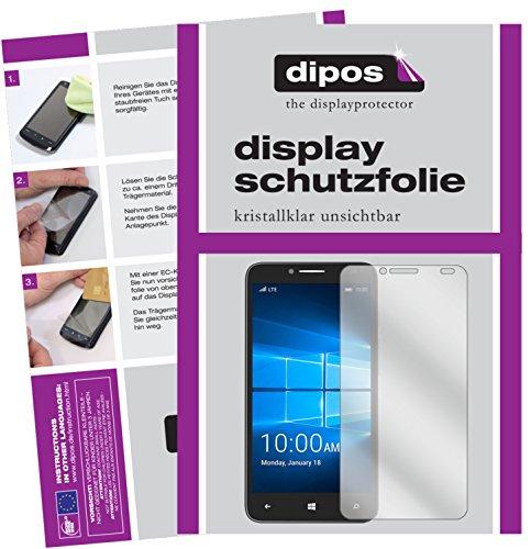 dipos I 6X Schutzfolie klar kompatibel mit Alcatel Idol 4 Pro Folie Bildschirmschutzfolie