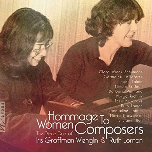 Iris Graffman Wenglin and Ruth Lomon