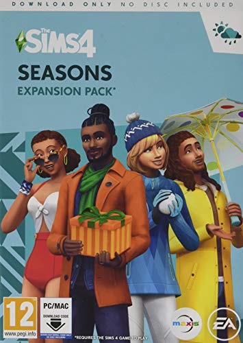 The Sims 4 Seasons PC Download Code [Importación inglesa]
