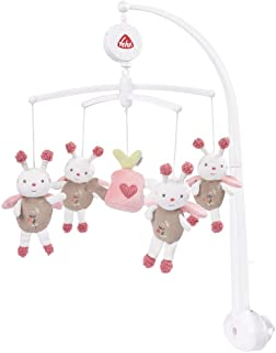 multicolore per neonati e bambini da 0 a 5 mesi Giostrina da viaggio con carillon LOOPY /& Lotta//carillon da portare con s/é Fehn 059212 Applicazione flessibile al lettino da viaggio e al lettino