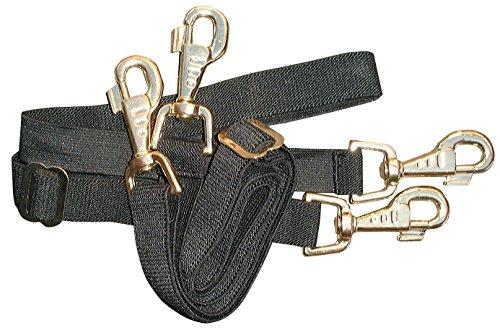 Harry's Horse 32209004-05 Schweifriemen, Elastisch, schwarz