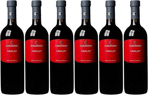 Merlot Igt Cusumano 7538284 Vino, Cl 75
