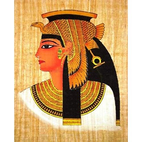 Pintura de diamante redondo completo 5D princesa africana bordado punto de cruz imagen mosaico arte de pared decoración del hogar regalo hecho a mano Pintura de Diamante-Regalo de Navidad 30 * 40cm