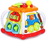 Mopoq Multifunktions-Spielkonsole Kinder Fun Small World for Kinder Baby-Tap Early Education Lernspielzeug 32x31x24.5cm Kinder pädagogisches Spielzeug