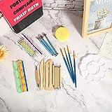 【𝐎𝐟𝐞𝐫𝐭𝐚𝐬 𝐝𝐞 𝐁𝐥𝐚𝐜𝐤 𝐅𝐫𝐢𝐝𝐚𝒚】Juego de puntuación de mandala reutilizable puntuación de mandala, manualidades para pintar sobre tablas Pintura para principiantes(38 piece set)