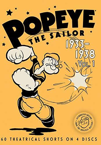 Popeye The Sailor: 1933-1938 Vol. 1
