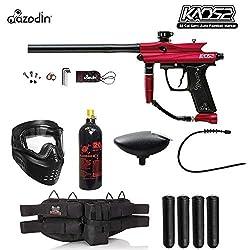 Maddog Azodin KAOS 2 Silver Paintball Gun