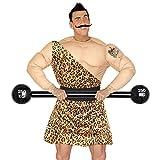 NET TOYS Aufblasbare Langhantel Bodybuilder Hantel aufblasbar 120 cm Gewichtheber Clown Kostüm...