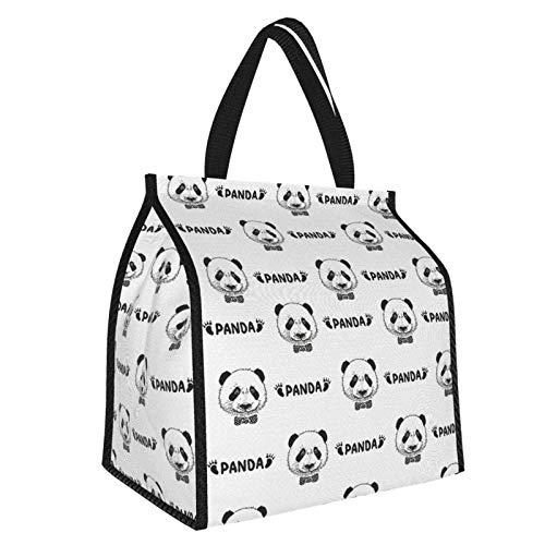 Y-shop Animal Decor Cute Panda Face Head and Small Footprint Silhouette Childish...