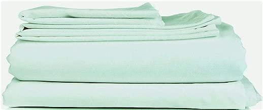 Thread Spread True Luxury 100% Egyptian Cotton - Genuine 1000 Thread Count 4 Piece Sheet Sets - Fits Mattress Upto 18'' Deep Pocket Queen Green
