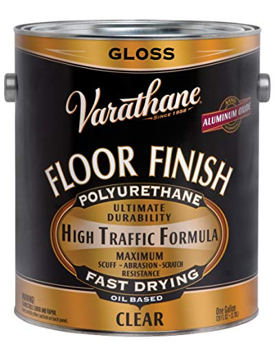 RUST-OLEUM 130031 Varathane Gallon Gloss Oil Base Premium Polyurethane Floor Finish