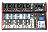 E-Lektron SE-8 Live Mischpult 6-Kanal Mixer