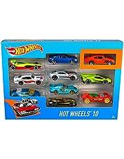 Hot Wheels 54886 10 Car Pack Assortment (Pack May Vary)