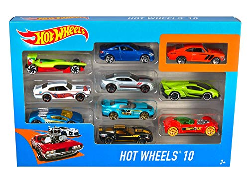 Hot Wheels 54886 10 Car Pack Ass...