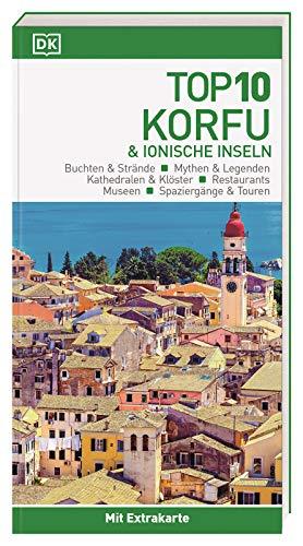 Top 10 Reiseführer Korfu & Ionische Inseln: mit Extra-Karte und kulinarischem Sprachführer zum Herausnehmen