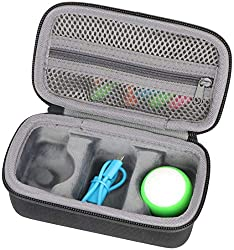 Hard Travel Case for Sphero M001BRW Mini App Enabled Robot by co2CREA Shockproof dustproof and water resistance, comes with handstrap. Material: EVA, Color: Black for sale is case only (device and accessories are not included)