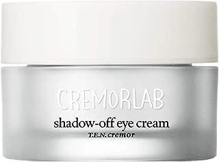 Cremorlab Shadow Off Eye Cream 0.5 Fl. Oz 15ml Niacinamide, Peptides and Adenosine / Dual-function eye cream for dark circles and fine lines