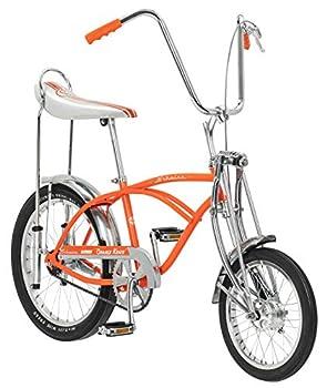 Schwinn Classic Old School Krate Bike Ape Handlebar and Bucket Saddle 20-Inch Wheels Orange