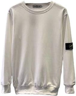 Mogogo Mens Solid Colored Long Sleeve Scoop Neck Vogue Pullover Sweatshirt