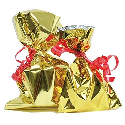 Il Leccio Srl Sacchetti Metallizzati Oro- cm 30x50