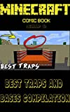 Minecraft Comic Book: Minecraft - BEST Traps and Bases...