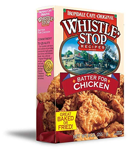 Original WhistleStop Cafe Recipes   Batter Mix for Chicken, Baked or Fried (1 Box)