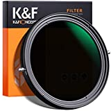 K&F Concept 82mm Variable Fader ND2-ND32 ND Filter and CPL Circular Polarizing Filter 2 in 1 for Camera Lens No X Spot Weather Sealed.