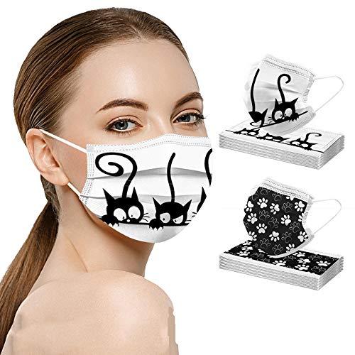 MaNMaNing Protección con Elástico para Los Oídos Pack 20 Unidades Adulto 20201110-MANING-SEN0 (Gato MIX 20B)