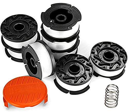 Eventronic 10 Pack String Trimmer Replacement Spool for Black and Decker, 240ft 0.065' AF-100...
