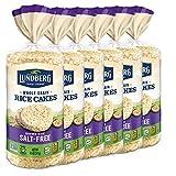 Lundberg Brown Rice Cakes, Salt-Free, 8.5oz (6 Count), Gluten-Free, Vegan, Whole Grain, Kosher,...