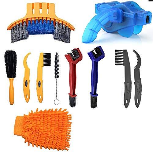 Paor Fahrrad-Reinigungsbürste, Werkzeug für Fahrradketten, Reifen, Ritzel, Radfahren, Eckflecken, Schmutzreinigung