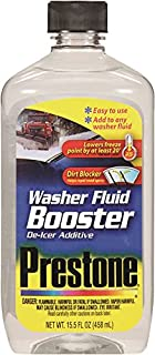 Prestone AS240 Windshield Washer Fluid Booster De-Icer Addit