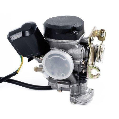 Auspuff f/ür CPI ATU Spin GE, Explorer, Baotian Generic E2 // 1E40QMB auch baugleiche Modelle wie Keeway mit 50ccm 2-Takt Motor
