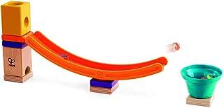 Hape Quadrilla Mega Skatepark Marble Run Attachment, 17 Pieces