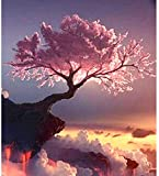 Kids age Eskuel Jigsaw Puzzle for Adults Kids 500 Pieces The Setting Sun Pink...