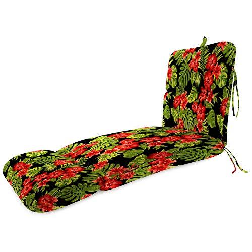 OKSLO Jordan manufacturing outdoor patio replacement chaise lounge cushion, cancun/fie