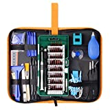 Kit Cacciavite di Precisione 85 in 1 Kit di Riparazione Kit di Driver Magnetico Per Elettronica Con Borsa Portatile Premium Per Cellulare, Tablet, PC, Laptop