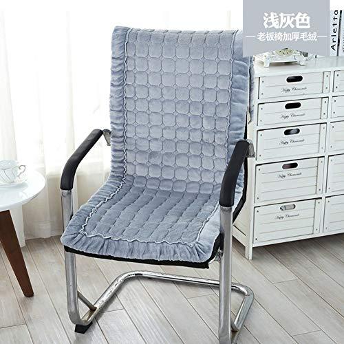 Kussen voor stoelen, paisleypatroon, luxe, voor herfst en winter, met rugkussen, zitkussen voor bureaustoel, antislip, 45 x 145 cm (18 x 57 inch) 50x145cm(20x57inch) Vistoso