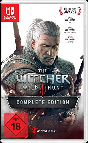 The Witcher 3: Wild Hunt - Complete Edition - Nintendo Switch [Importación alemana]