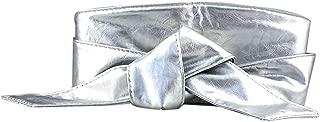Women Wide Elastic Stretch Waist Belt Bow-knot Cinch Skirt Slim Accessories